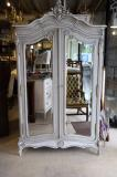 82-39 - French Painted Armoire
