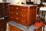 82-44 - Directoire Period Walnut Commode