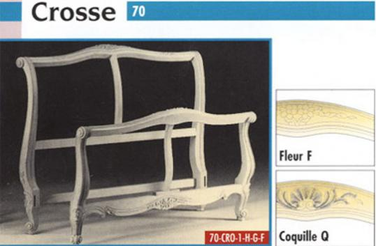 French Bed Frame - Crosse