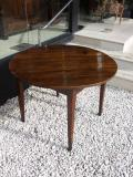 82-53 - Large Round Chestnut Table