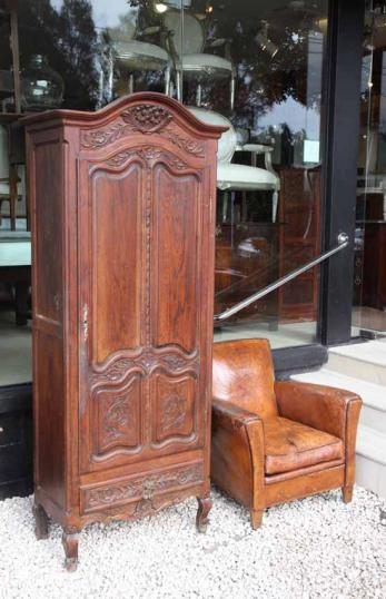 82-64 - Small French Armoire to be Painted