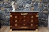 82-65 - Impressive Empire or French Regency Commode