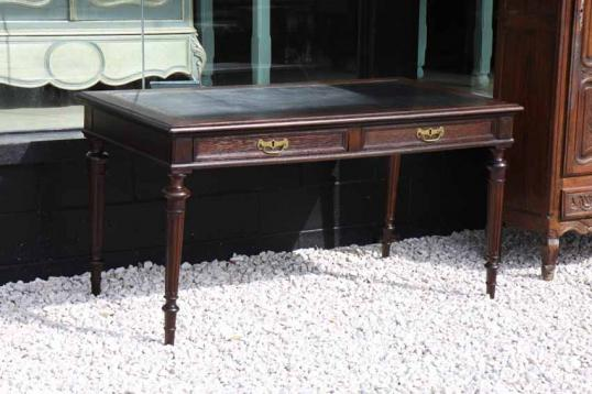 82-67 - French Oak Library Table