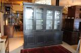82-87 - Large Louis Philippe Antique Bookcase