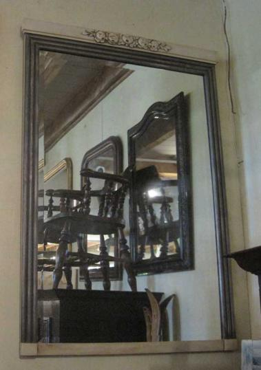 Pair of English Painted Mirrors