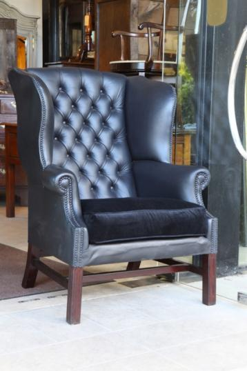 83-89 - English Wing Chair