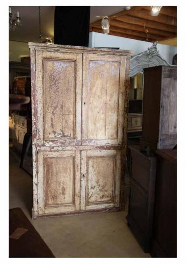 84-00 - Painted 18th Century French Cupboard