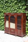 84-12 - Marble Topped French Empire Cupboard