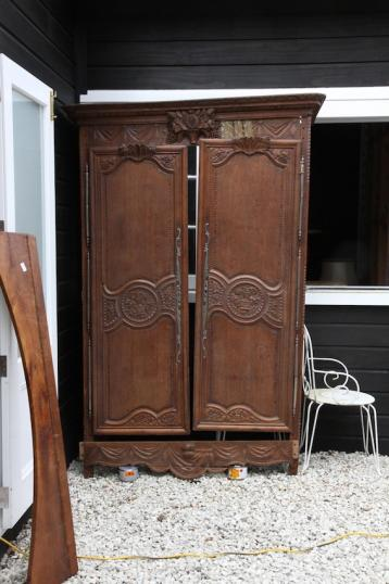 Large French Antique Armoire