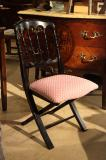 4-00 - New French Folding Chair