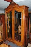 84-58 - French Walnut Armoire