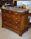 84-65 - Louis Philippe Walnut Commode
