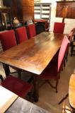 84-69 - Louis XIV Cherrywood Dining Table