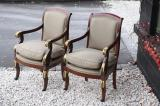 Fantastic Pair of French Empire Chairs