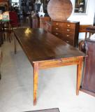84-84 - French Provincial Chestnut Dining Table