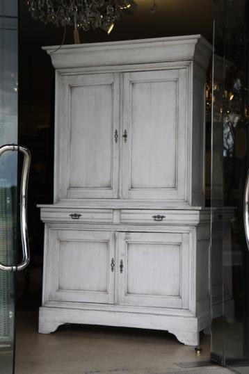 84-88 - French Painted Cupboard