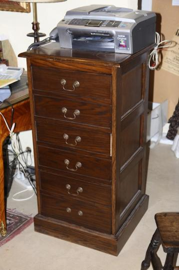 5-97 - Three Drawer Filing Cabinet