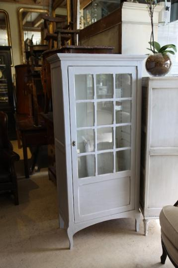 85-14 - French Painted Cupboard