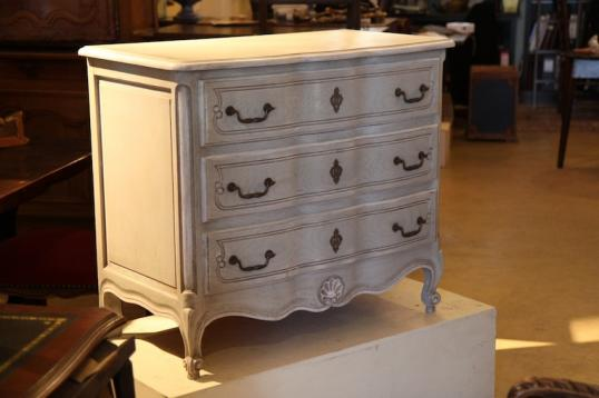 85-37 - French Painted Louis XIV Style Commode