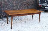 85-43 - French Provincial Cherrywood Dining Table