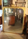 85-44 - Ornate French Antique Mirror