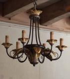 6-13 - Laurel Leaf 6-Light Chandelier
