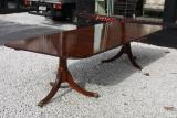 49-71 - Mahogany Pedestal Dining Table