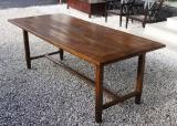 85-84 - French Oak Provincial Dining Table