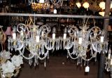85-96 - Pair of European Chandeliers