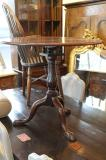 86-43 - English Wine Table with Birdcage Mechanism