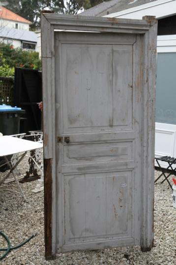86-46 - Three French Painted Doors