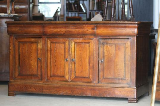 French Louis Philippe Chestnut Dresser Base