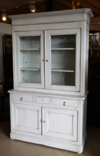 86-83 - French Painted Cupboard