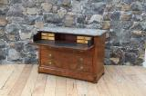 86-97 - French Burr Walnut Commode/Secretaire
