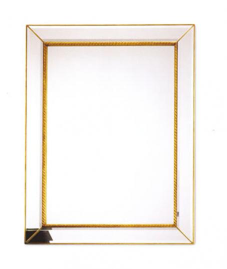 Gold Cushion Mirror (new)