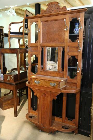 New Zealand Colonial Hallstand New Zealand Colonial Era Furniture