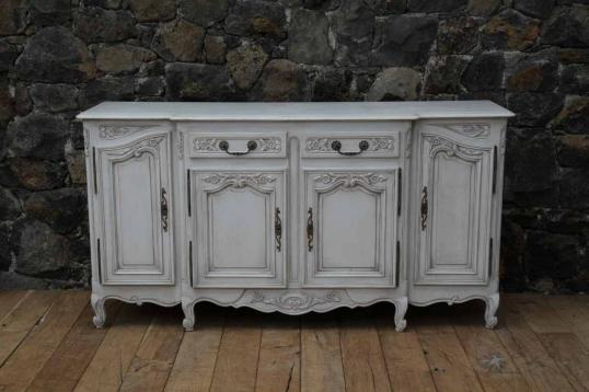French Louis XIV Style Four Door Dresser