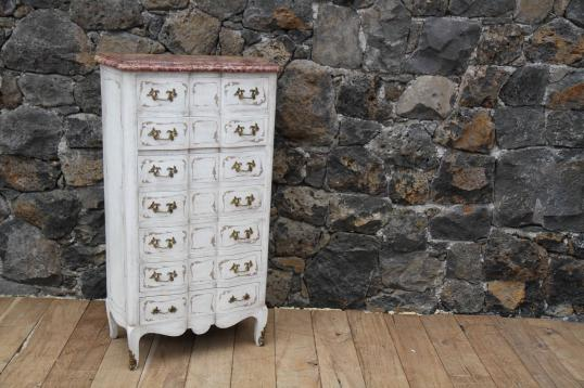 87-45 - French Painted Commode/Semainier