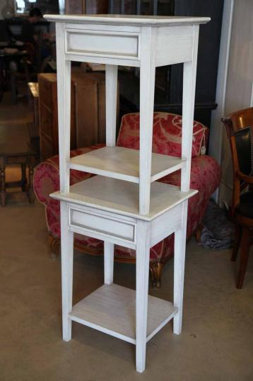 87-48 - Pair of Painted Bedsides