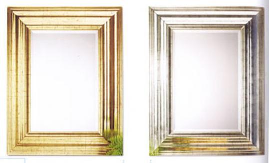 John Stephens   Wide Frame New Mirror