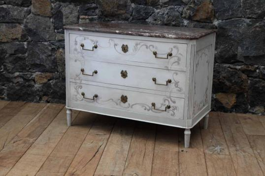 88-59 - French Period Painted Commode