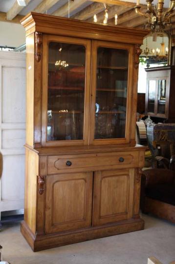 Rimu Secretaire Bookcase New Zealand Colonial Era Furniture