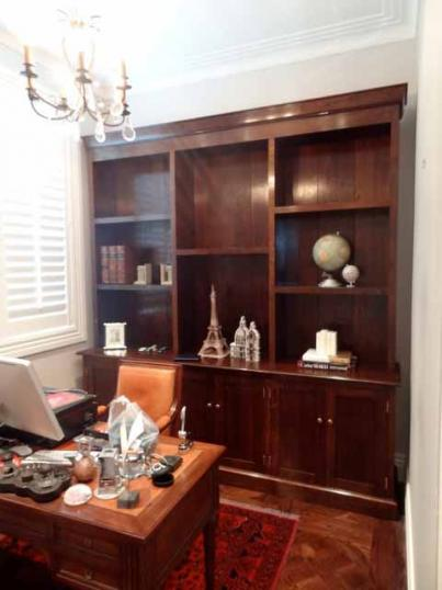 Weatherby George Bookcase and Cupboards