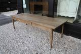 89-22 - Late 18th Century French Pale Chestnut Dining Table