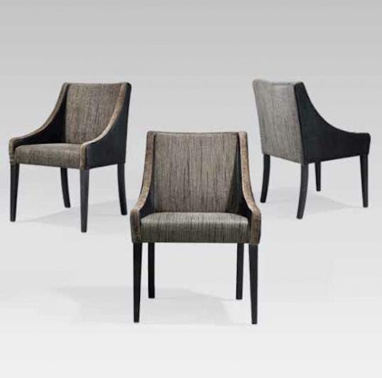 5-11 - French Tapered Legged Dining and Carver Chairs