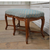 89-64 - French Beechwood Louis XV Style Bench