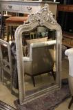 90-03 - Painted French Rococo Mirror
