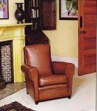 4-04 - Hudson Leather Chair