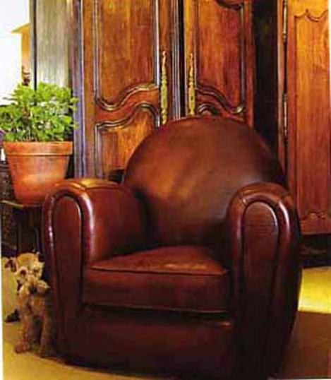 Halifax Leather Chair