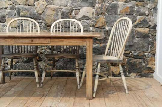 Bleached Windsor Dining Chairs & John Stephens | Bleached Windsor Dining Chairs